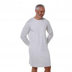 Chemise de nuit médicalisée ouverture dos Benefactor