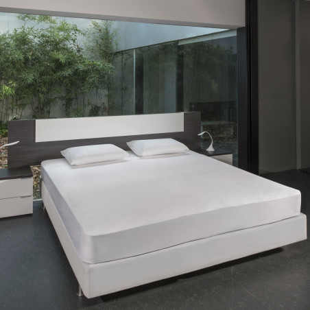 surmatelas et oreiller rafraichissant coussin. Black Bedroom Furniture Sets. Home Design Ideas