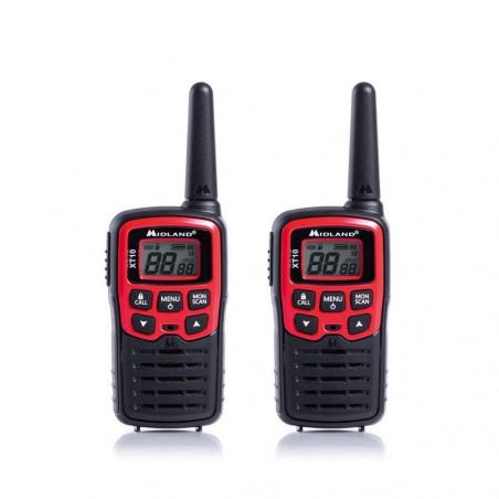 Talkie-walkie 16 canaux XT10