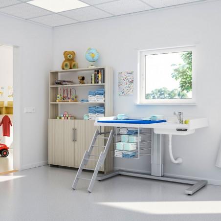 Table à langer à hauteur variable électrique avec lavabo Granberg 333