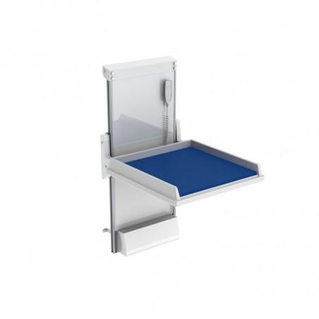 Table à langer murale à hauteur variable électrique Granberg 334