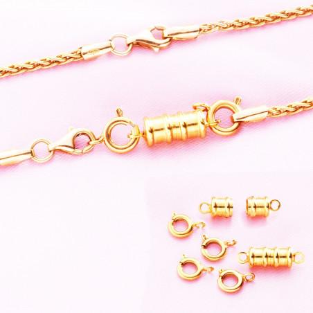 Fermoirs à bijoux aimanté