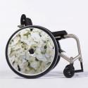 Flasque fauteuil roulant modèle Hortensia Blanc