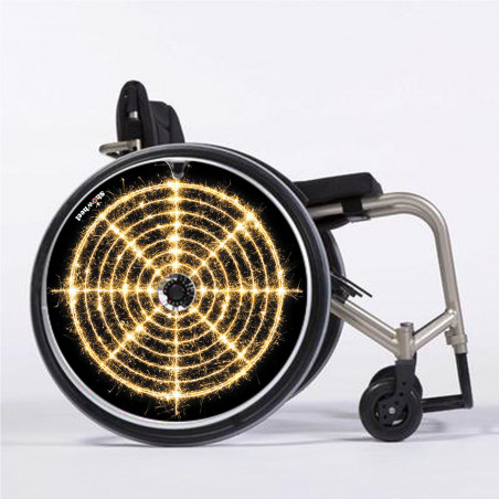 Flasque fauteuil roulant Cible lumineuse