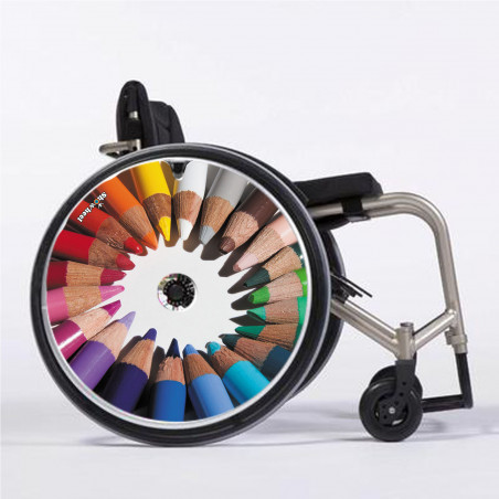 Flasque fauteuil roulant crayon