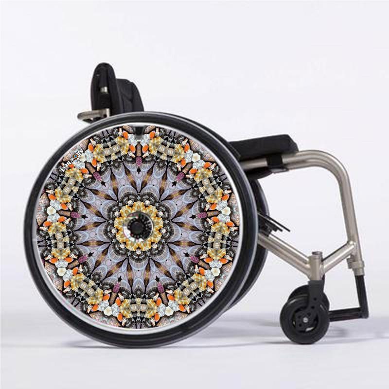 Flasque fauteuil roulant modèle Mandala 3