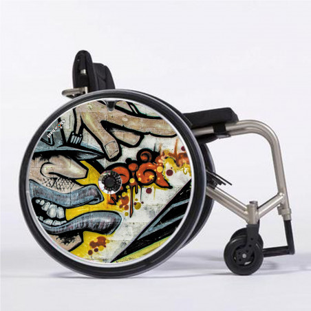 Flasque fauteuil roulant graffcool