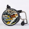 Flasque fauteuil roulant modèle Graffcool