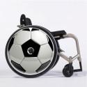 Flasque fauteuil roulant modèle Ballon foot
