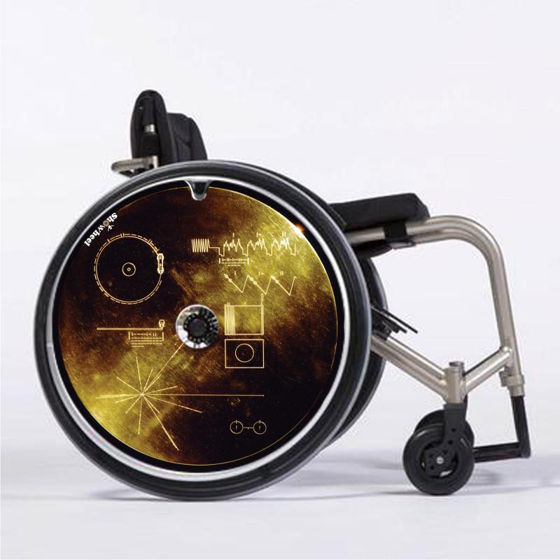 Flasque fauteuil roulant modèle Voyager Golden Record