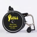 Flasque fauteuil roulant modèle Like a boss !