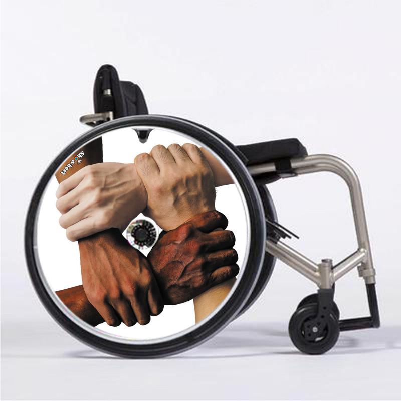 Flasque fauteuil roulant modèle Coexister