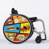 Flasque fauteuil roulant modèle Boom