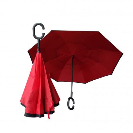 Parapluie réversible poignée ergonomique