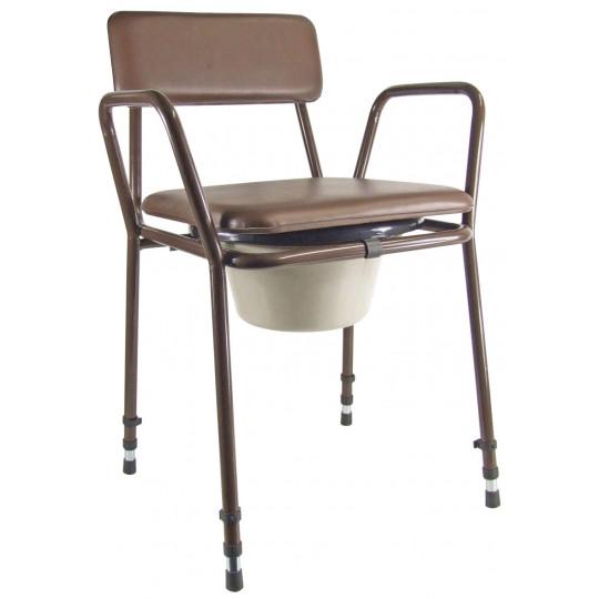 Chaise percée & cadre toilette Light