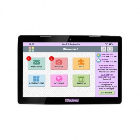 Tablette tactile senior Facilotab XXL WIFI