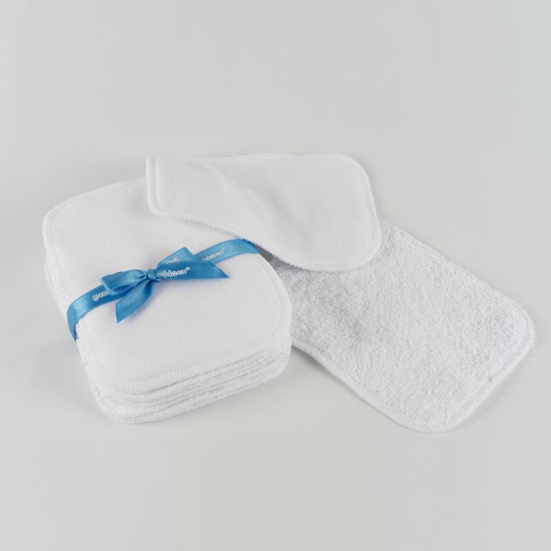 Lingettes intimes lavables ultra douces