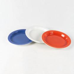 Assiette antidérapante en porcelaine extra dure
