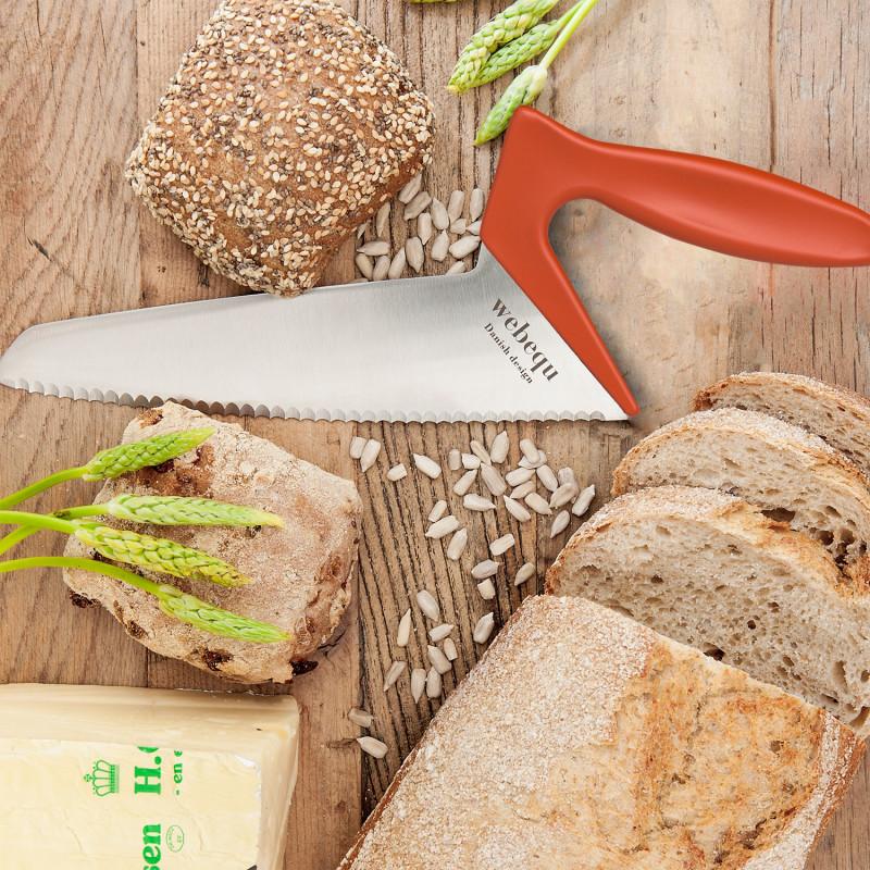 Couteau à pain ergonomique WEBEQU