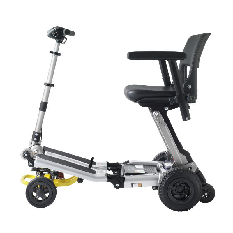 Scooter pour handicapé pliable Luggie Elite 4 roues