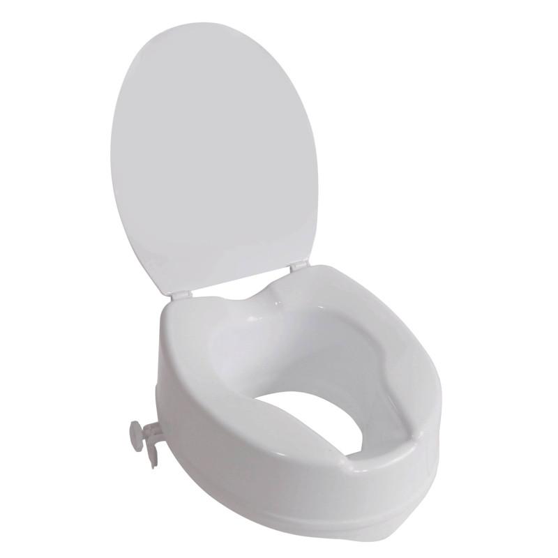 Réhausseur de WC IBIZA avec couvercle 15cm