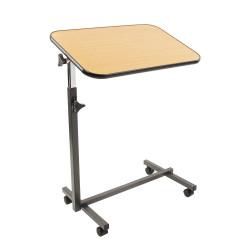 Table de lit simple ajustable et inclinable