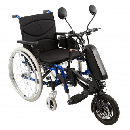 Roue motorisée iFly pour fauteuil roulant manuel