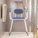 Chaise de douche assise haute