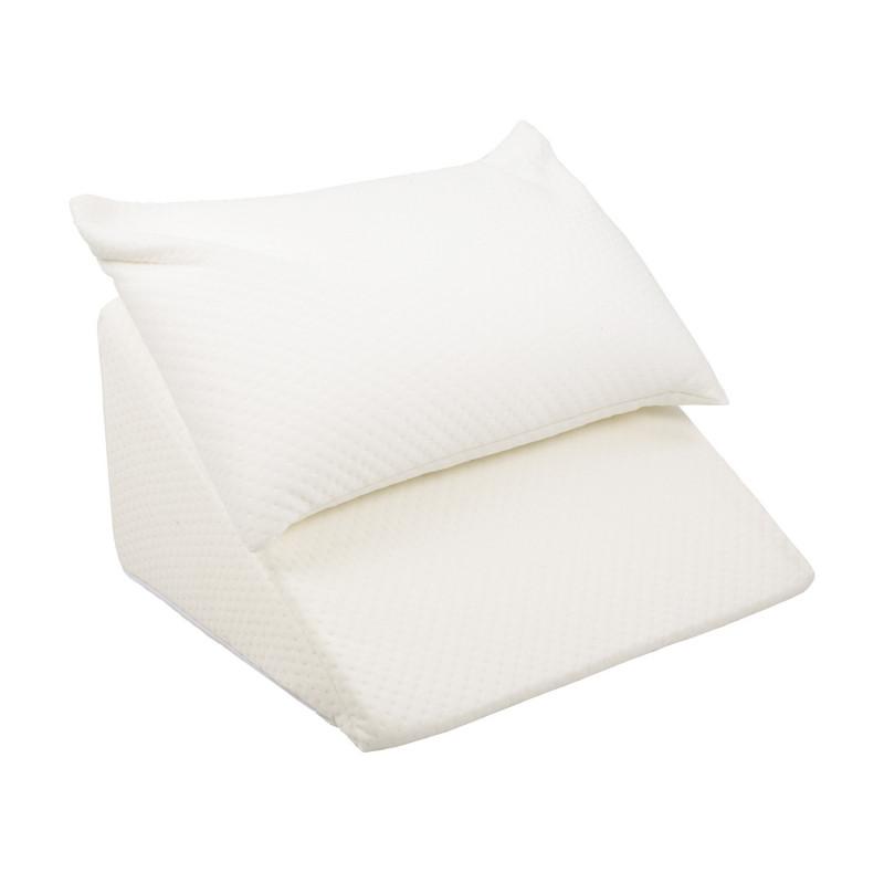 Dossier lit en mousse avec coussin confort