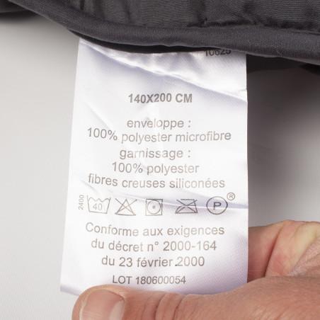 Couette individuelle pour lit rotatif