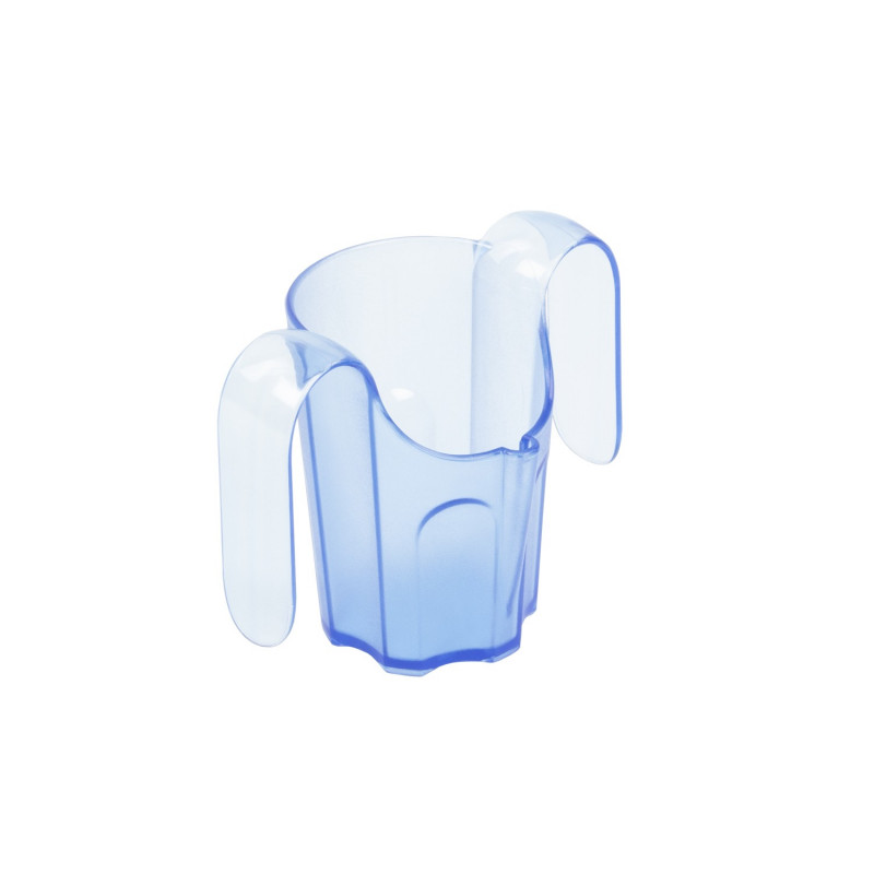 Gobelet ergonomique Facilitass avec 2 anses et découpe nasale