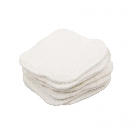 Carrés coton lavables x 20