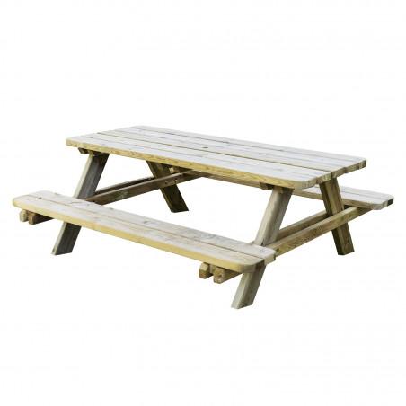 Table de pique-nique en bois autoclave MATISSE