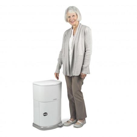 Poubelle anti-odeur pour déchets incontinence Janibell
