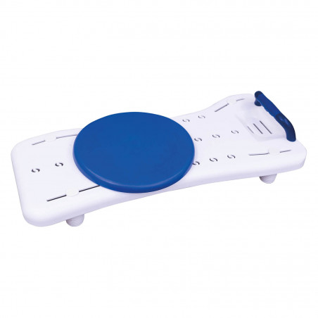 Planche de bain avec disque de transfert 360°