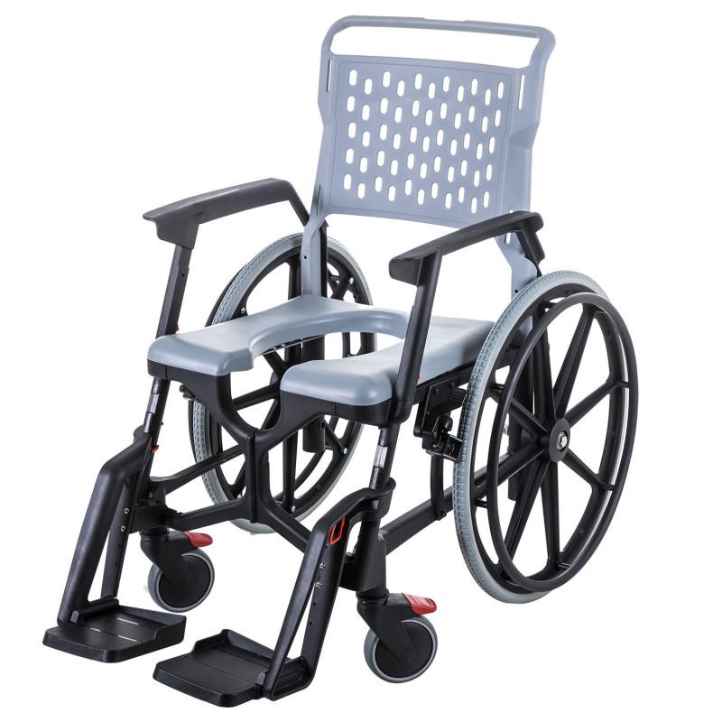 """Kit freins et 2 roues 24"""" pour fauteuil Bathmobile"""