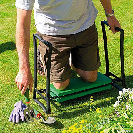 Repose genoux pour jardinage