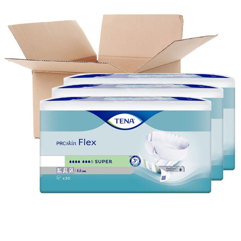 Lot de 3 paquets TENA - Flex Super Small (x90)