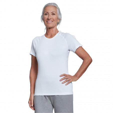 Tee-shirt manches courtes ouverture épaule Benefactor