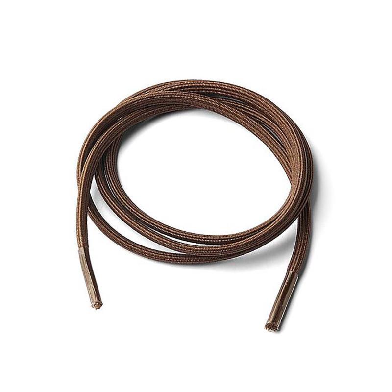 Lacets élastiques - Marron - 2 sets