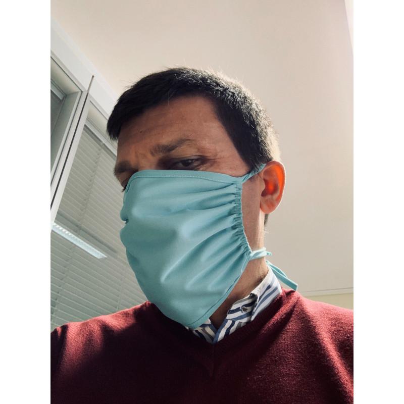 Lot de 10 masques tissu lavables anti-projections