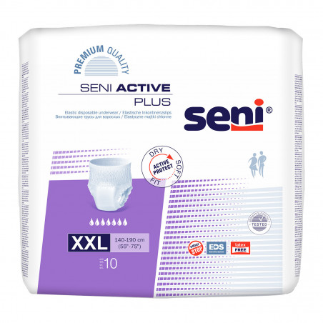 Pants SENI ACTIVE PLUS - NUIT - XXL