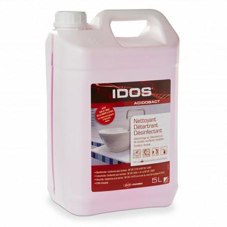 IDOS - Nettoyant désinfectant toutes surfaces ACIDOBACT - 5L