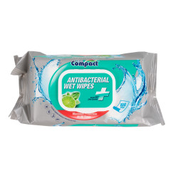 100 Lingettes désinfectantes et nettoyantes UltraCompact