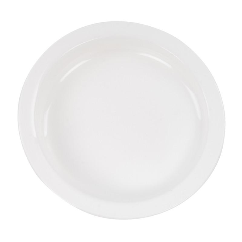 Assiette antidérapante à rebord Scoop