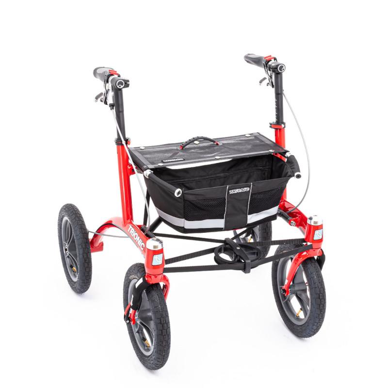 Déambulateur TRIONIC à roues Larges