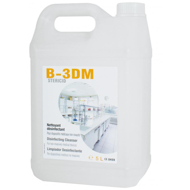 Détergent désinfectant 3DM - Bidon 5 L prêt à l'emploi