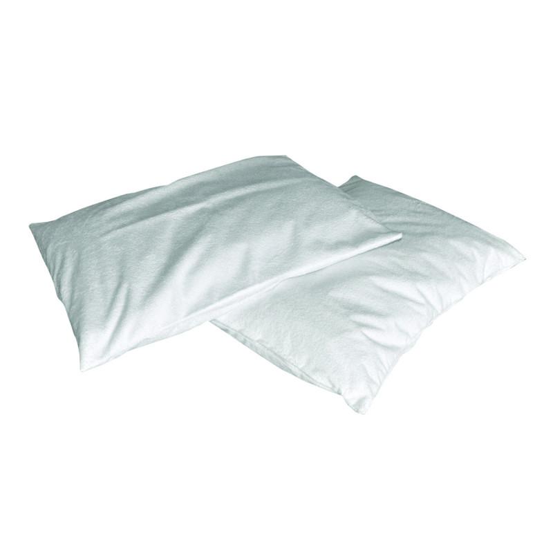 Taie d'oreiller imperméable tissu éponge