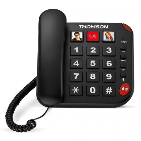 Téléphone fixe photophone Safy Thomson