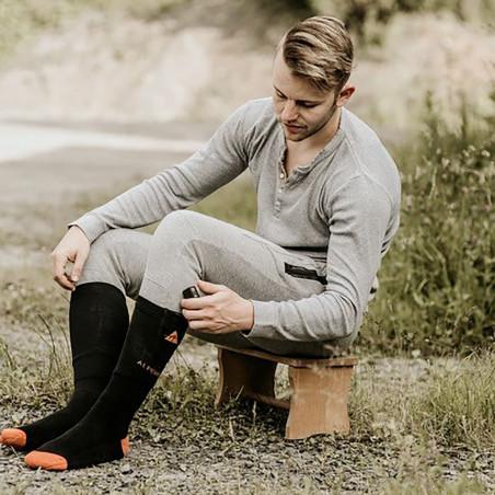Chaussettes chauffantes Alpenheat AJ16
